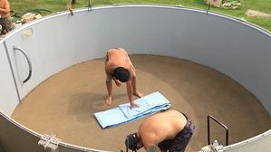 pool liner installation aboveground