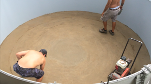 How to Install the base of swimming pool
