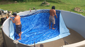 Pool Liner Aboveground Install