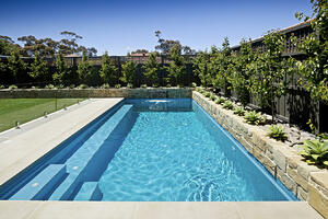 concrete swimming pool from http://neptunepools.com.au/
